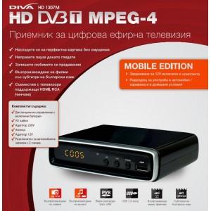 DVB-T МОБИЛЕН ПРИЕМНИК ЗА ЦИФРОВА ЕФИРНА ТЕЛЕВИЗИЯ