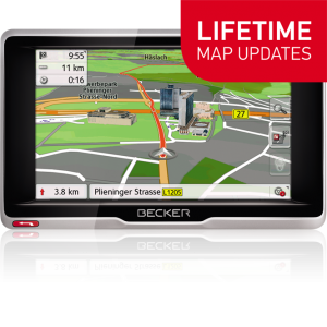 GPS НАВИГАЦИЯ BECKER ACTIVE 5 LIFETIME MAPS EU