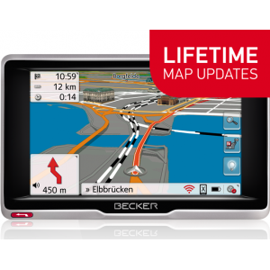 GPS НАВИГАЦИЯ BECKER PROFESSIONAL 5 LIFETIME MAPS EU