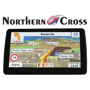 *GPS НАВИГАЦИЯ NORTHERN CROSS NC-712S EU FM LIMITED EDITION