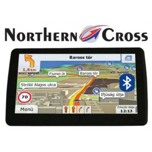 GPS НАВИГАЦИЯ NORTHERN CROSS NC-712S EU FM BT AV IN LIMITED EDITION