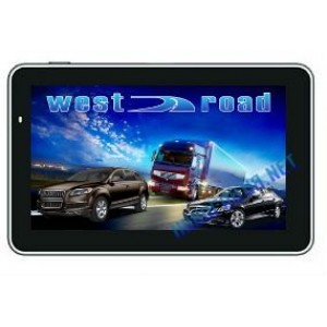 GPS НАВИГАЦИЯ WEST ROAD WR-S5256M EU 800 MHZ 256 RAM 8GB ЗА КАМИОН