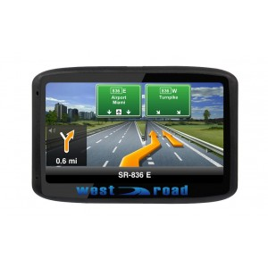 GPS НАВИГАЦИЯ WEST ROAD WR-501 FM BT EU