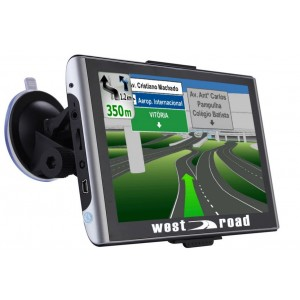 *GPS НАВИГАЦИЯ WEST ROAD WR-7084S HD EU 800 MHZ