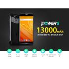 МОБИЛЕН ТЕЛЕФОН ULEFONE POWER 5, 13000MAh, 6GB RAM, 4G
