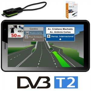 4G Таблет DIVA QC7704GM, 7″ HD, Quad Core с Навигация Европа и TV Тунер