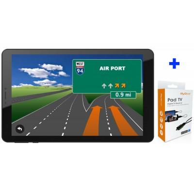 ТАБЛЕТ DIVA QC804GM, 8″ IPS, 4G, QUAD CORE, 1GB/8GB, НАВИГАЦИЯ И TV ТУНЕР