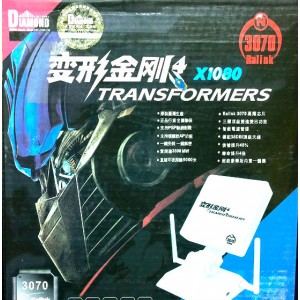 СУПЕР МОЩЕН WI-FI ДЕКОДЕР С 3 АНТЕНИ DIAMOND TRANSFORMERS X1080